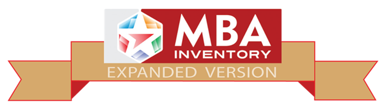 MBA Inventory (Expanded Version)